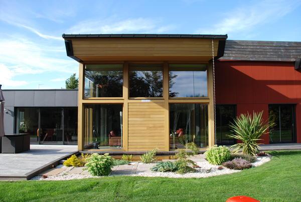 Maison ossature bois for Architecte maison en bois